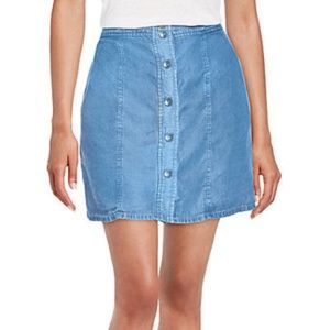NWT) SPLENDID DENIM MINI SKIRT LIGHT WEIGHT SIZ S